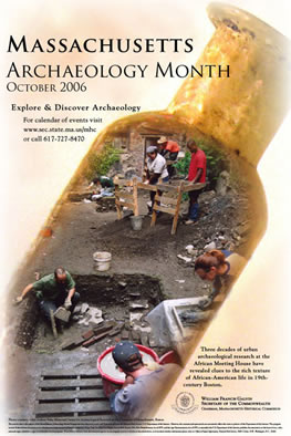 MHC: Archaeology Month posters